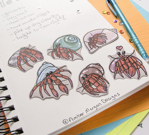 Cutie Crabs Sticker Flakes