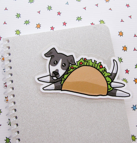 Taco Dog Bookmarker