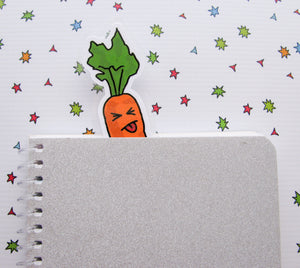 Crazy Carrot Bookmarker