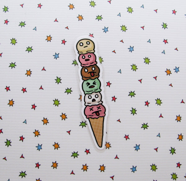 I Scream Bookmarker