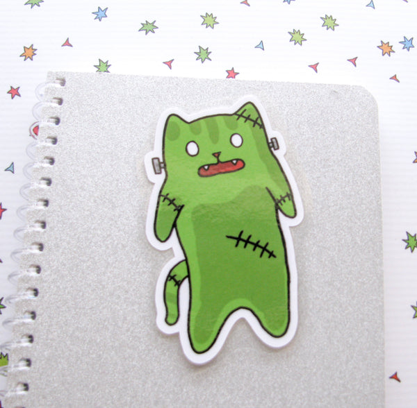 Frankenkitty Bookmarker