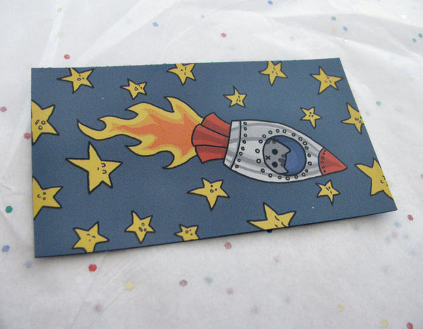 Rocket Kitty Magnet