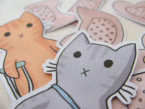 Boo Boo Kitty Sticker Flakes