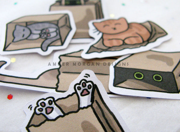 Cats N Bags Sticker Flakes