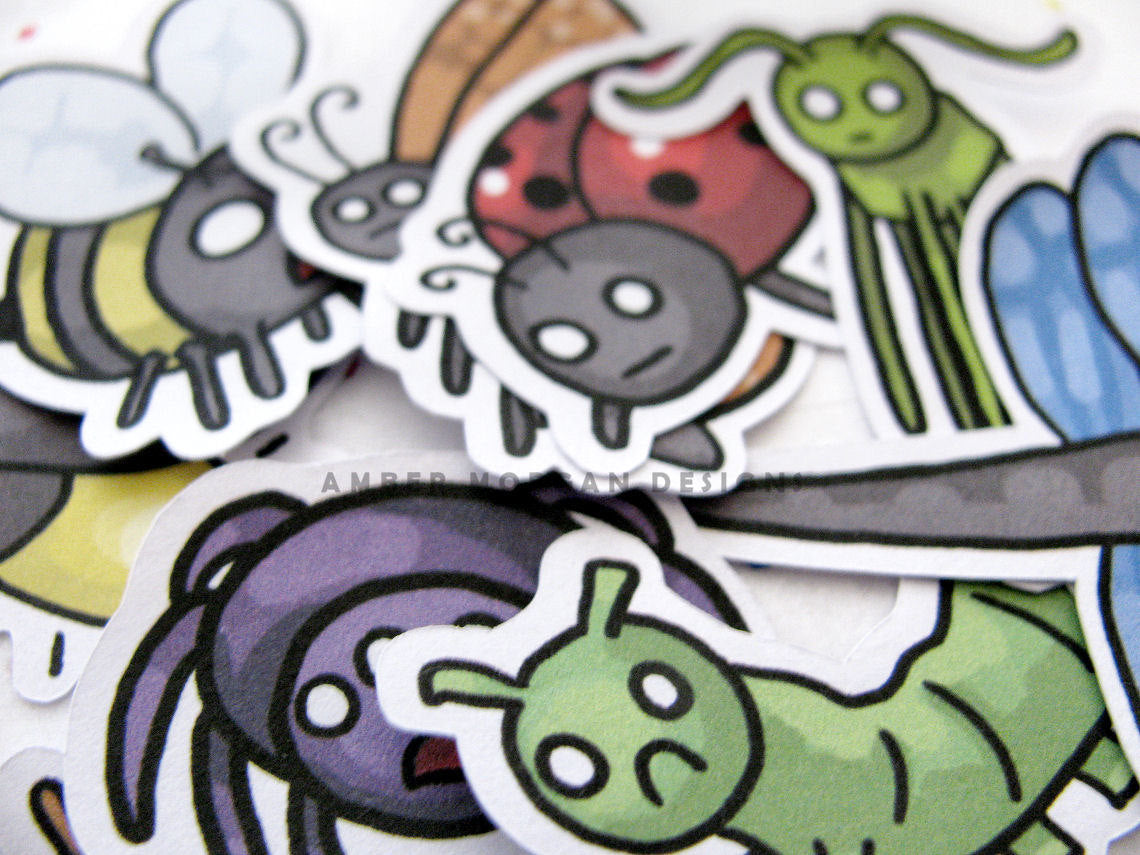 Creeped Out Critters Sticker Flakes