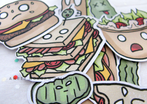 Looney Lunch Sticker Flakes