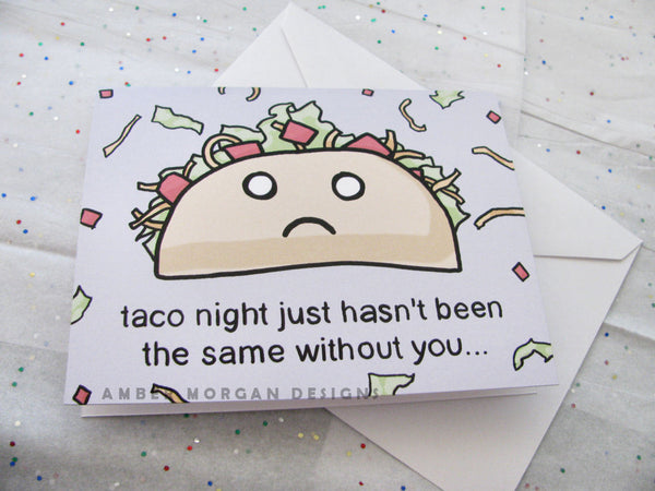 Taco Night Greeting Card
