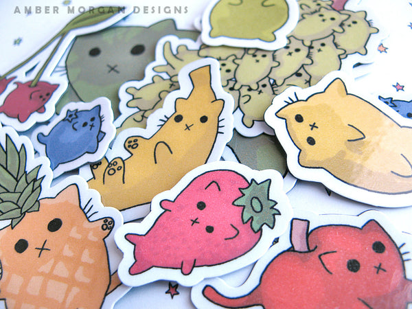 Froot Cats Magnet Set