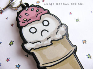 I Scream Keychain