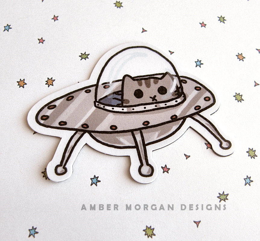 UFO Kitty Magnet