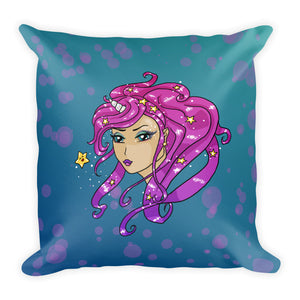 Little Star Square Throw Pillow
