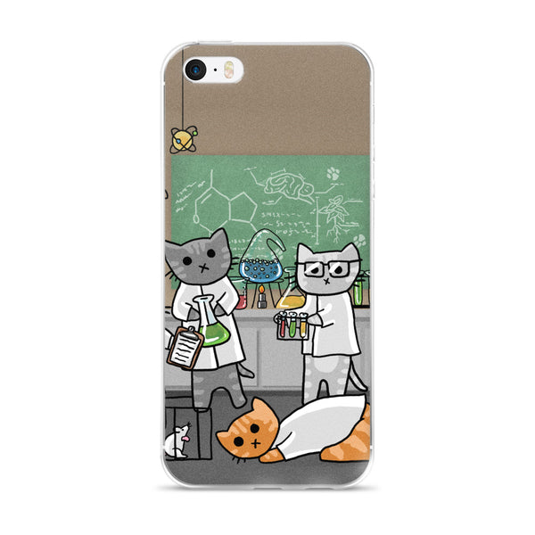 Science Cats iPhone Case