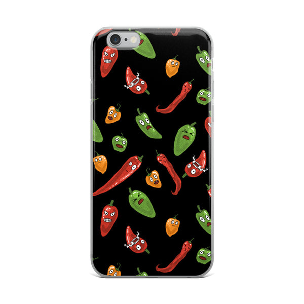 Hawt Peppers iPhone Case