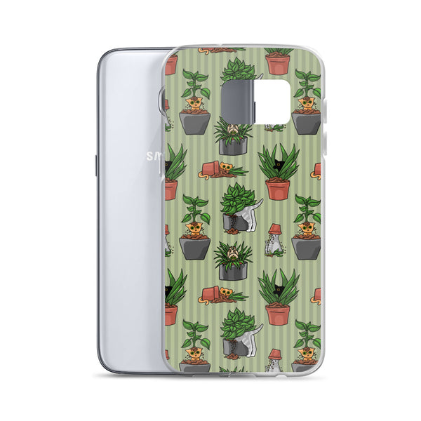 Potted Cats Samsung Case