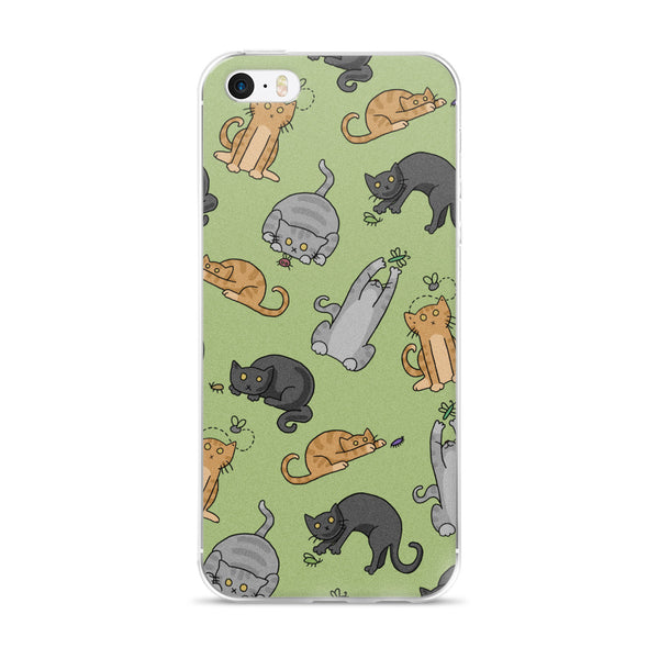 Cats n Bugs iPhone Case