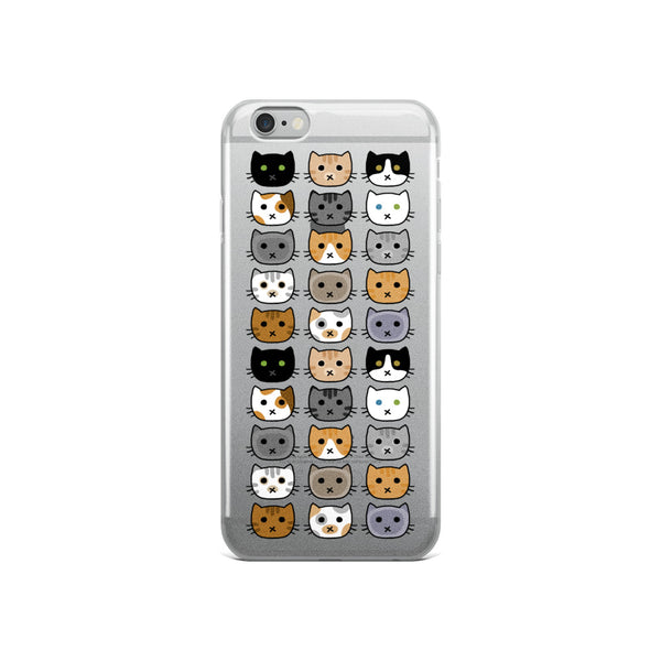 Cat Faces iPhone Case