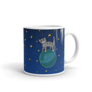 Space Kitty Mug