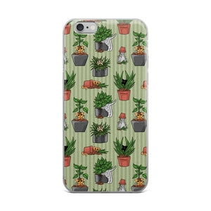 Potted Cats iPhone Case
