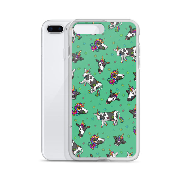 Rainbow Cowicorn iPhone Case