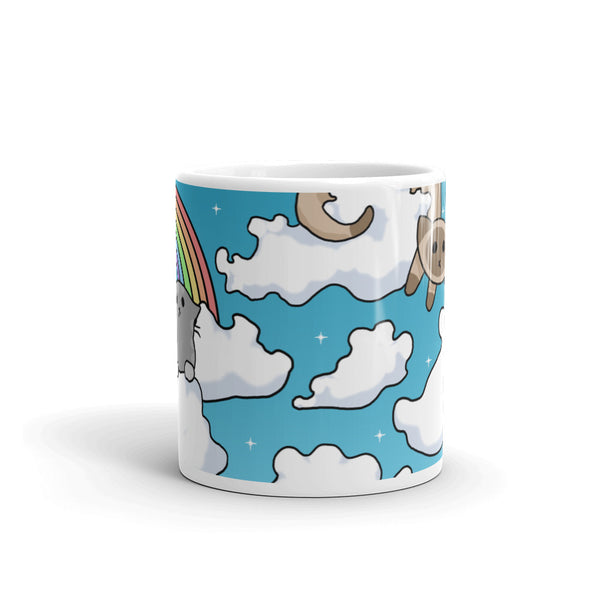 Cloud Cats Mug