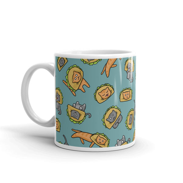 Cats in Taco Hats Mug