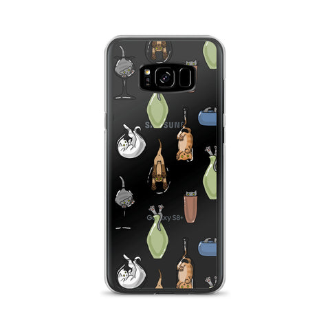 Cats N Glass Samsung Case