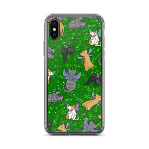 Fairy Cats iPhone Case