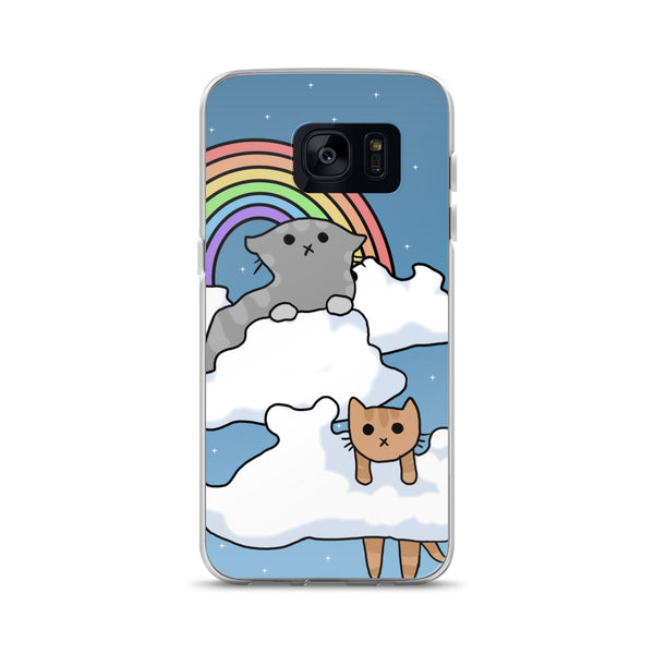 Cloud Cats Samsung Case