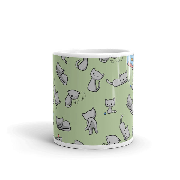 Jonesy Green Mug