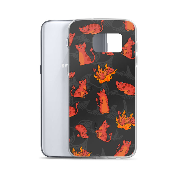 Devil Kitties Samsung Case