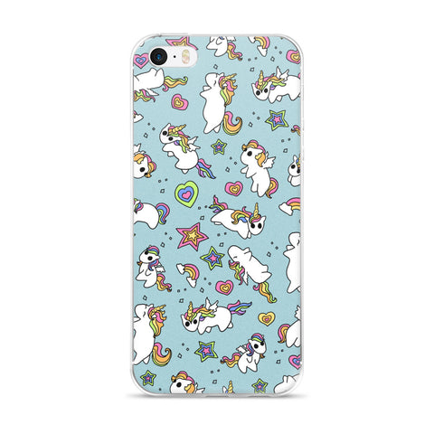Rainbow Ponies iPhone Case