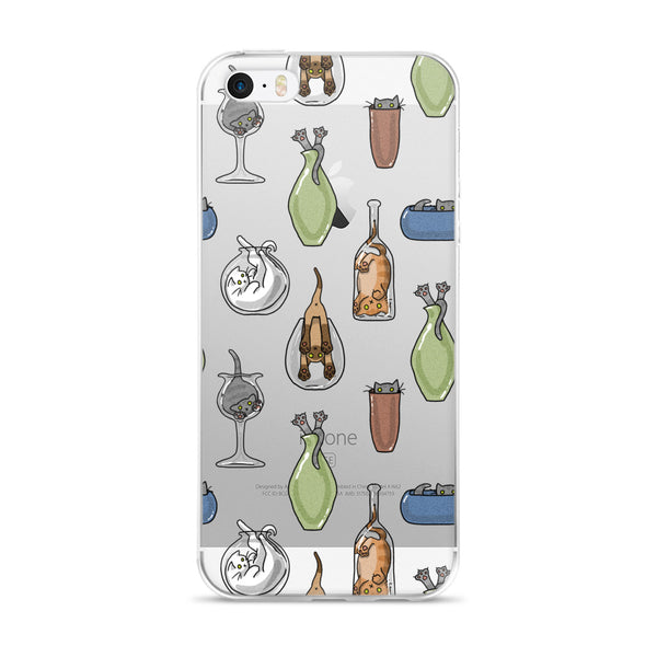 Cats N Glass iPhone Case