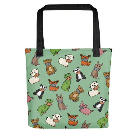 Cats in Costumes Tote bag, cute kitties, shoulder bag, reusable bag, canvas tote, cute animals