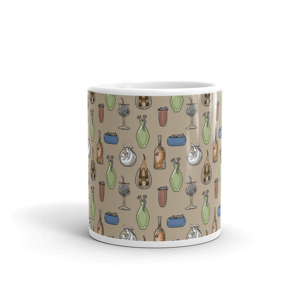 Cats N Glass Mug