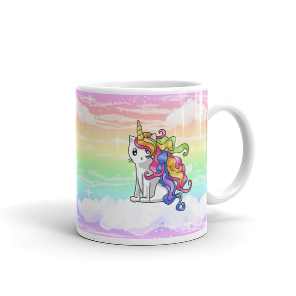 Rainbow Caticorn Mug