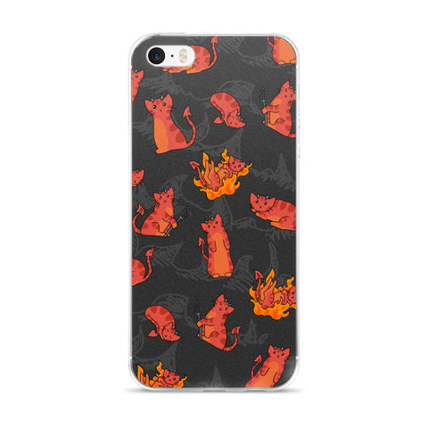 Devil Kitties iPhone Case