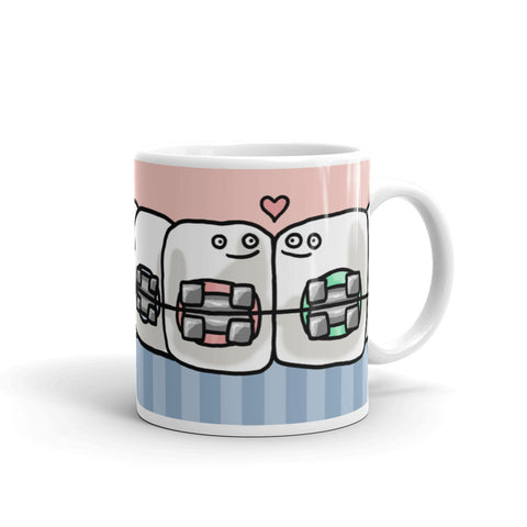 Toothgether Forever Braces Mug