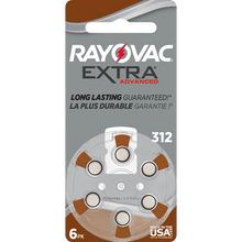 Rayovac | Extra Advanced | Size 312