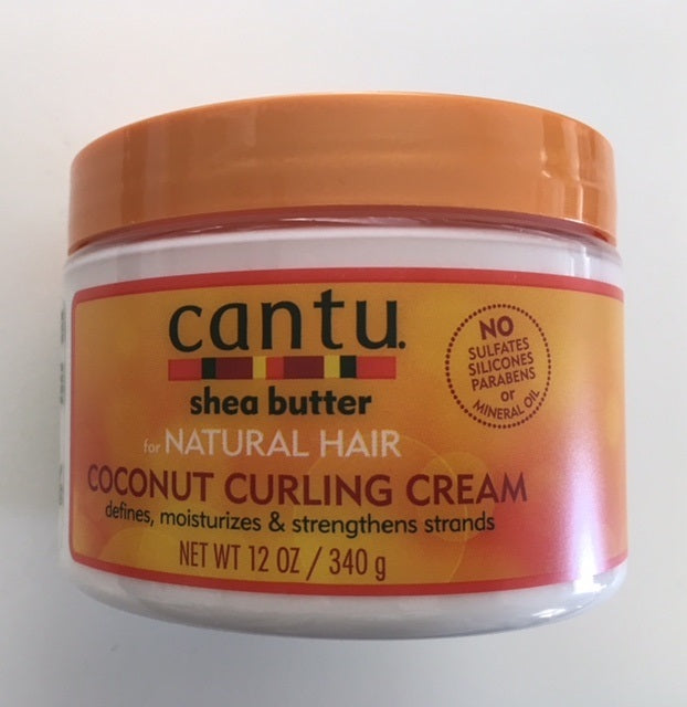 Cantu Shea Butter Coconut Curling Cream for Natural Hair