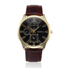 Alloy Geneva Men's Watch