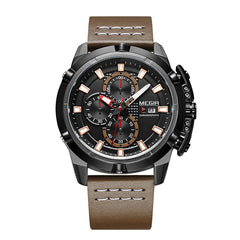 Megir Mens Quartz 18 Watch