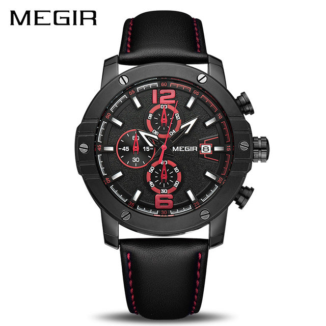 Megir Mens Blue18 Watch
