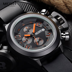 Megir Fashion Sports Quartz Watch
