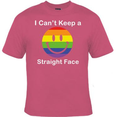 Can't Keep A Straight Face Unisex Shirt