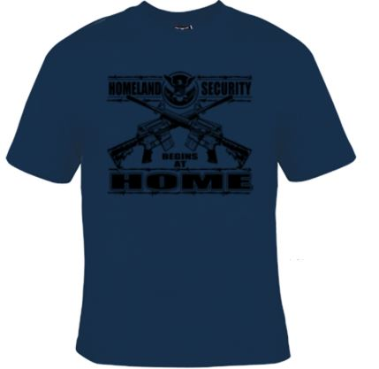Original Homeland Security Unisex Tee Shirt