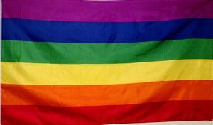 Rainbow Pride Heavy Duty Polyester Flags