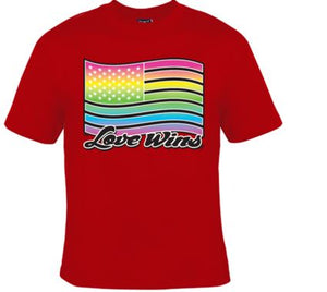 Love Wins Flag Unisex Shirt