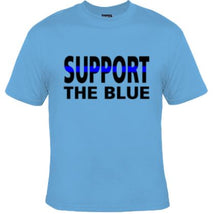 Support The Blue Unisex Shirt