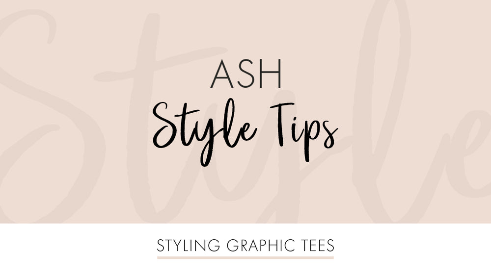 Styling Graphic Tees