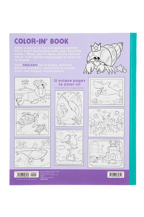 Outrageous Ocean Coloring Book